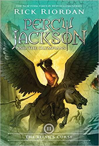 "book cover for ""The Titan's Curse"""