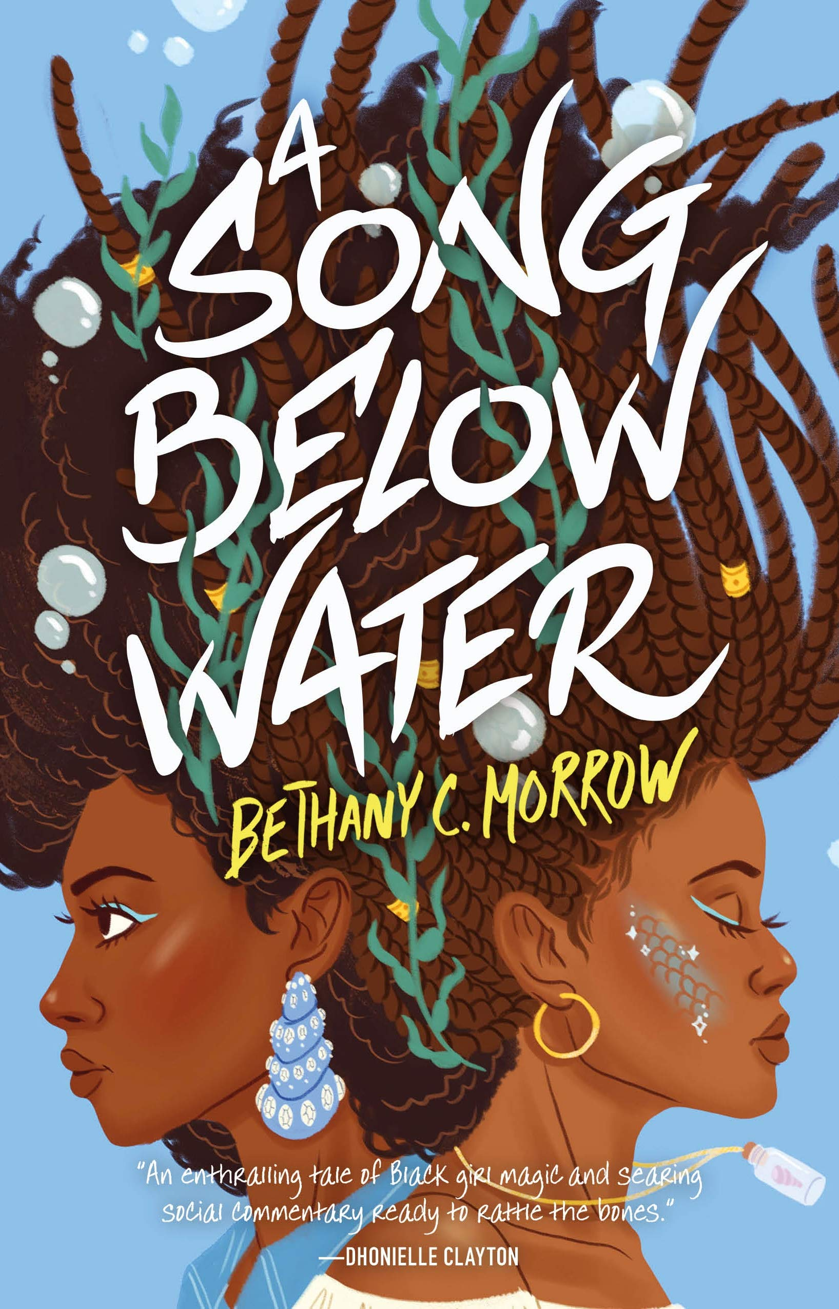 A Song Below Water book cover